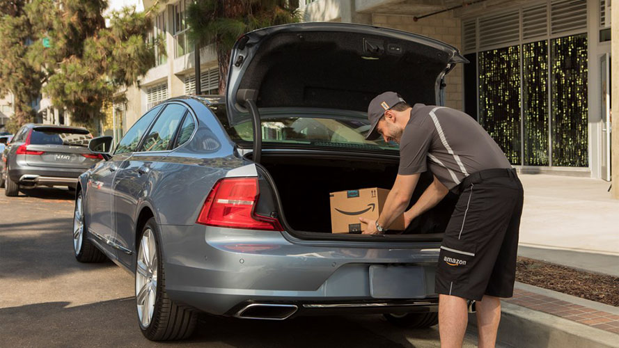 amazon slips packages in car trunks to beat porch thieves moov