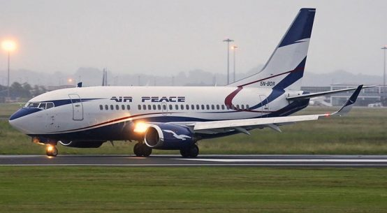 Air Peace Boeing 737-528